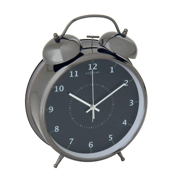 Relógio Mesa Despertador Black Nextime
