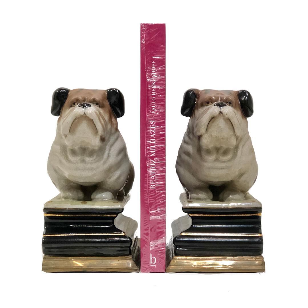 Conjugado de aparador de livros - Bulldog