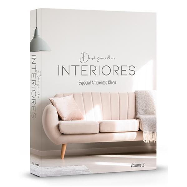 Caixa Livro Design de Interiores Ambientes Clean
