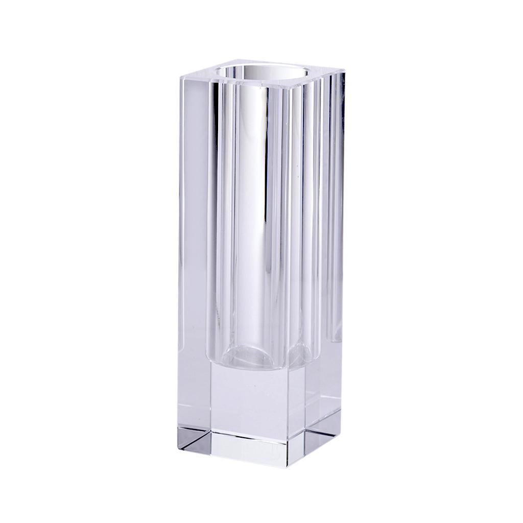 Vaso cristal quadrado