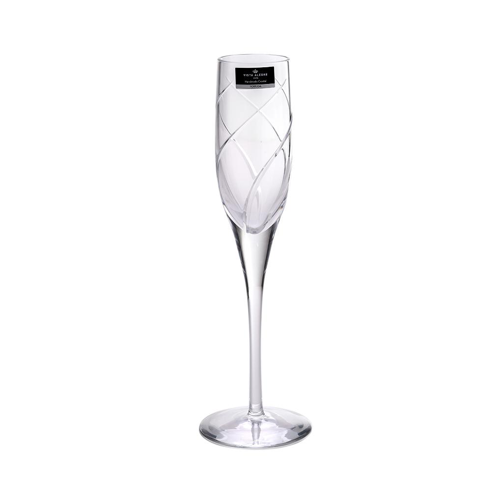 Taça de cristal Champagne Violino