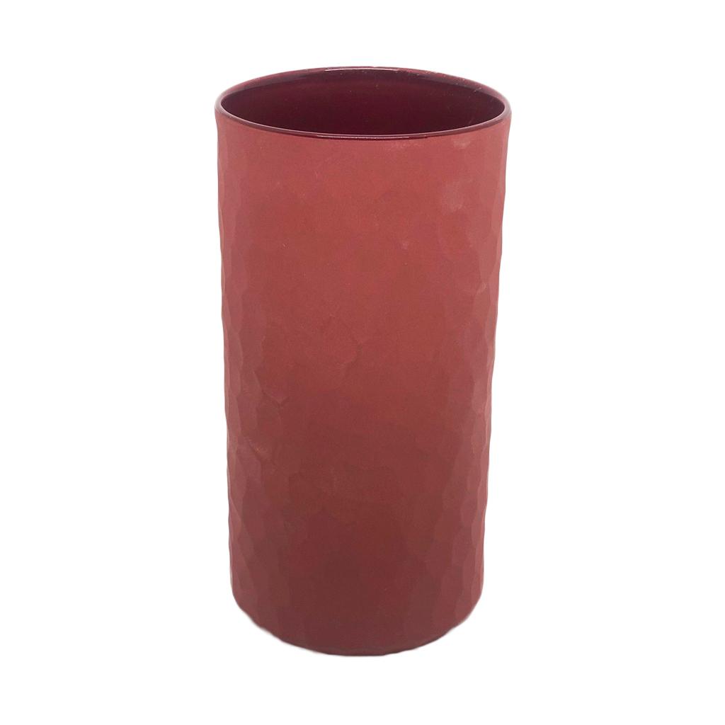 Vaso Carve vermelho