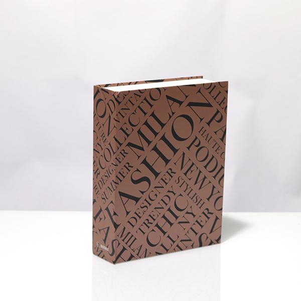 Caixa Livro Metaliz Fashion Estampa