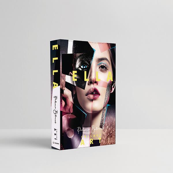 Caixa Livro Ella Collage Art