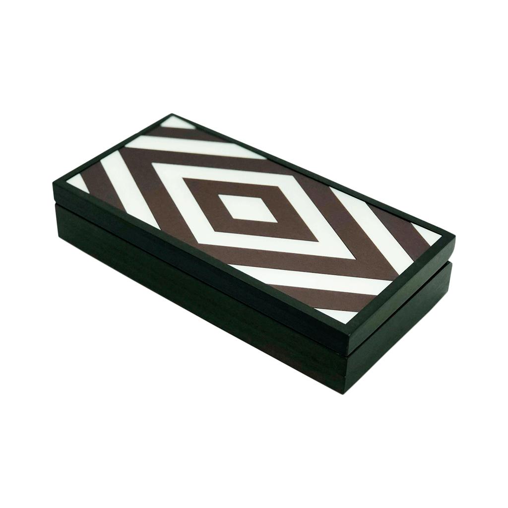 Caixa decorativa retangular