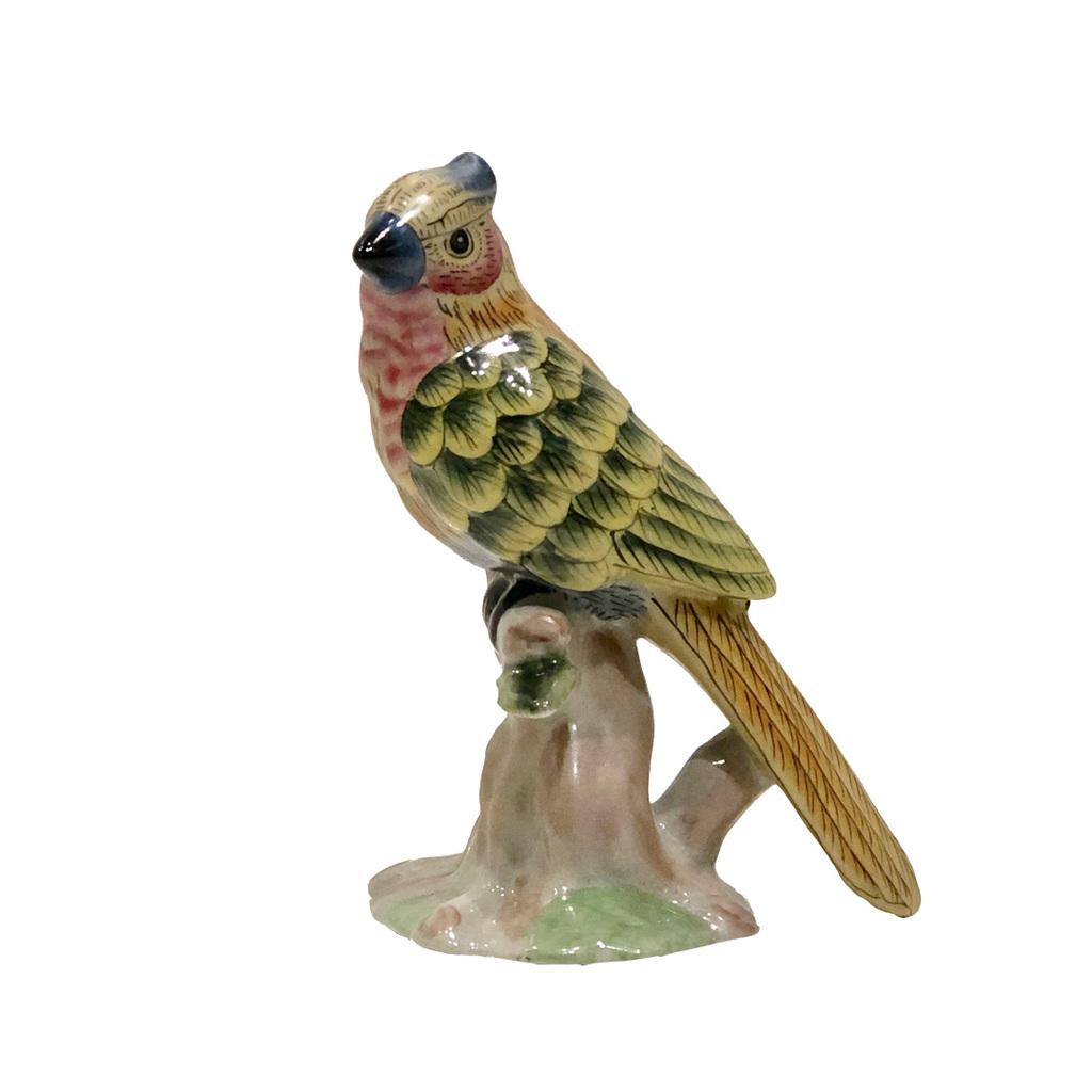 Pássaro de porcelana
