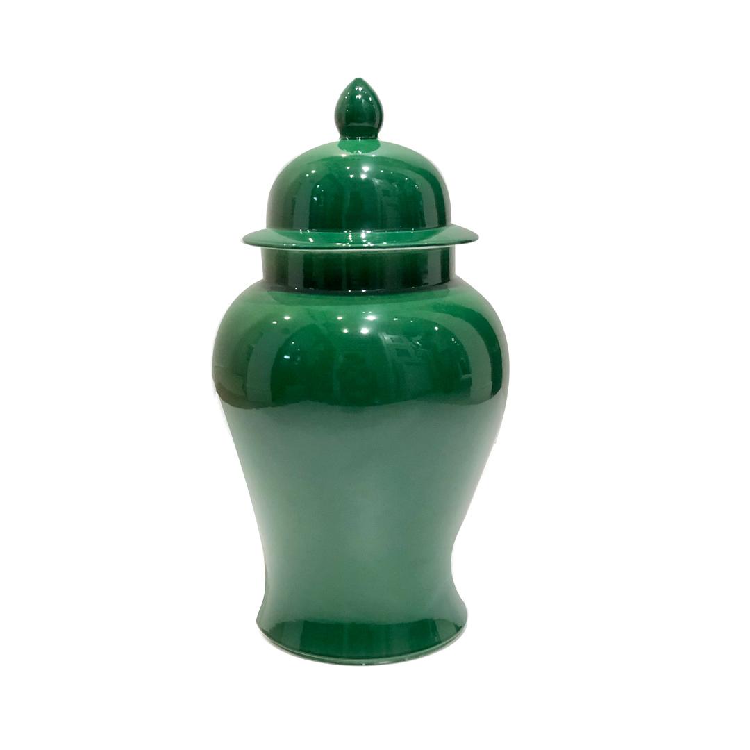 Potiche de porcelana Bojudo Verde