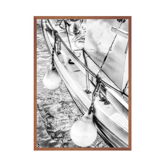 Quadro Sailing Black and White