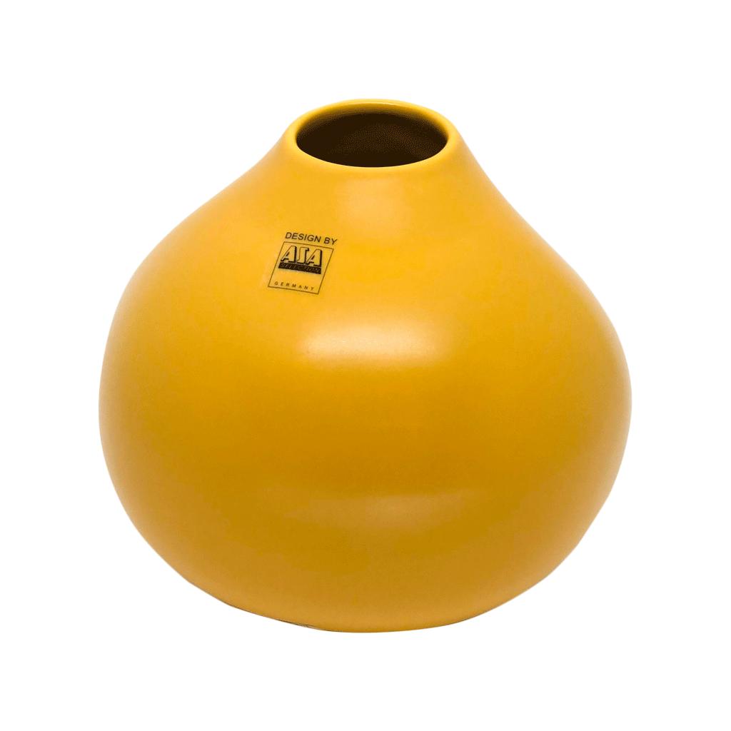 Vaso mostarda em cerâmica