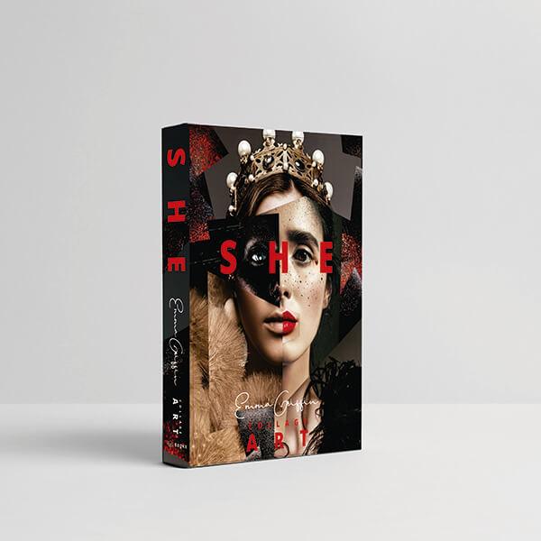 Caixa Livro She Collage Art