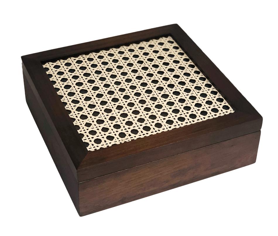 Caixa Decorativa com Tela
