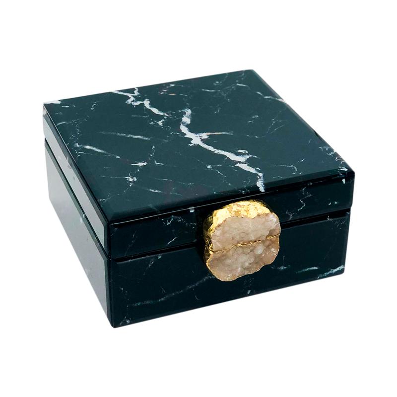 Caixa decorativa preta