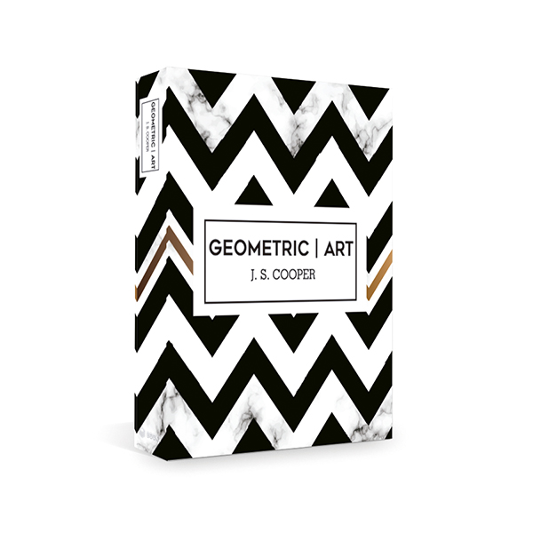 Caixa Livro Geometric Art