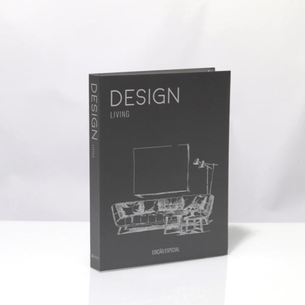 Caixa Livro Metaliz Hot Design