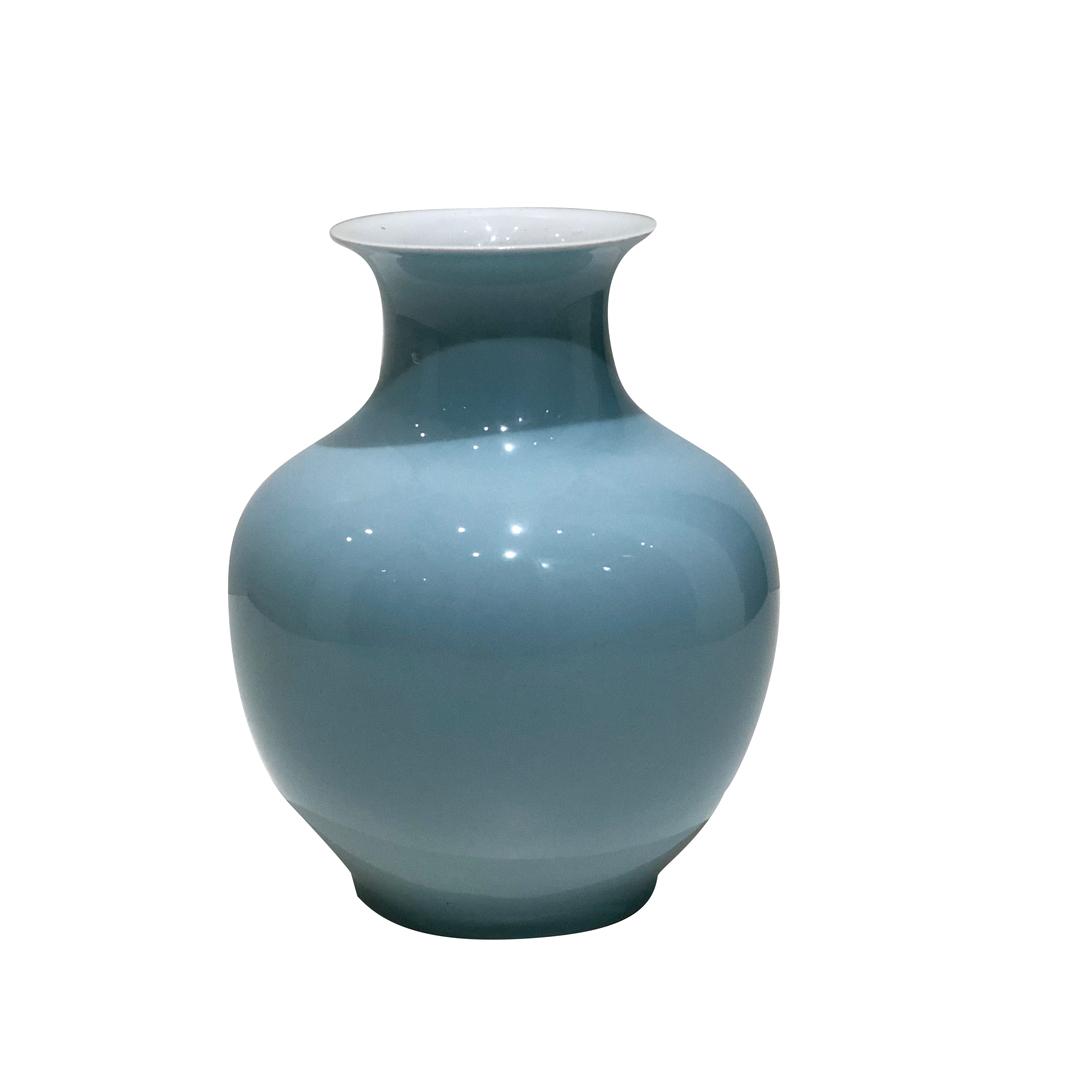 Vaso Mint Redondo em Porcelana
