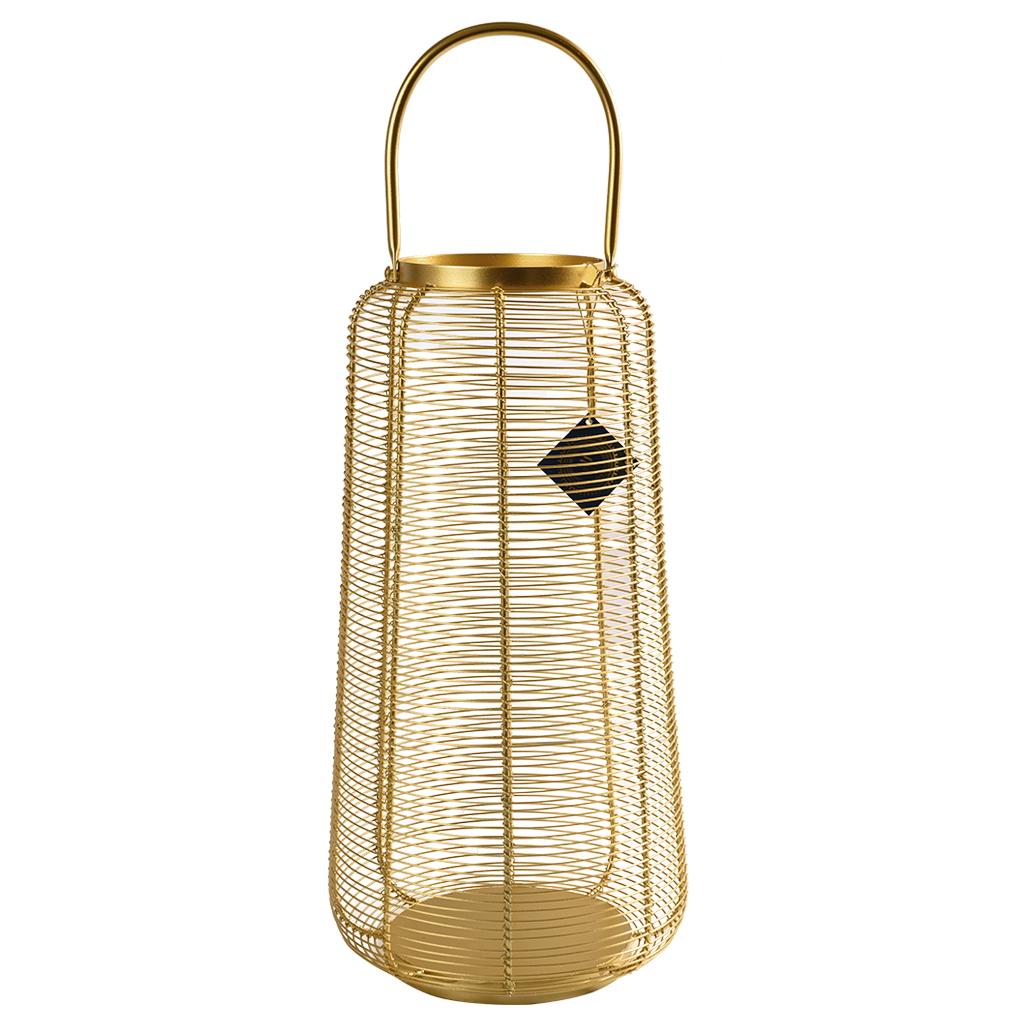 Lanterna Dourada Alta