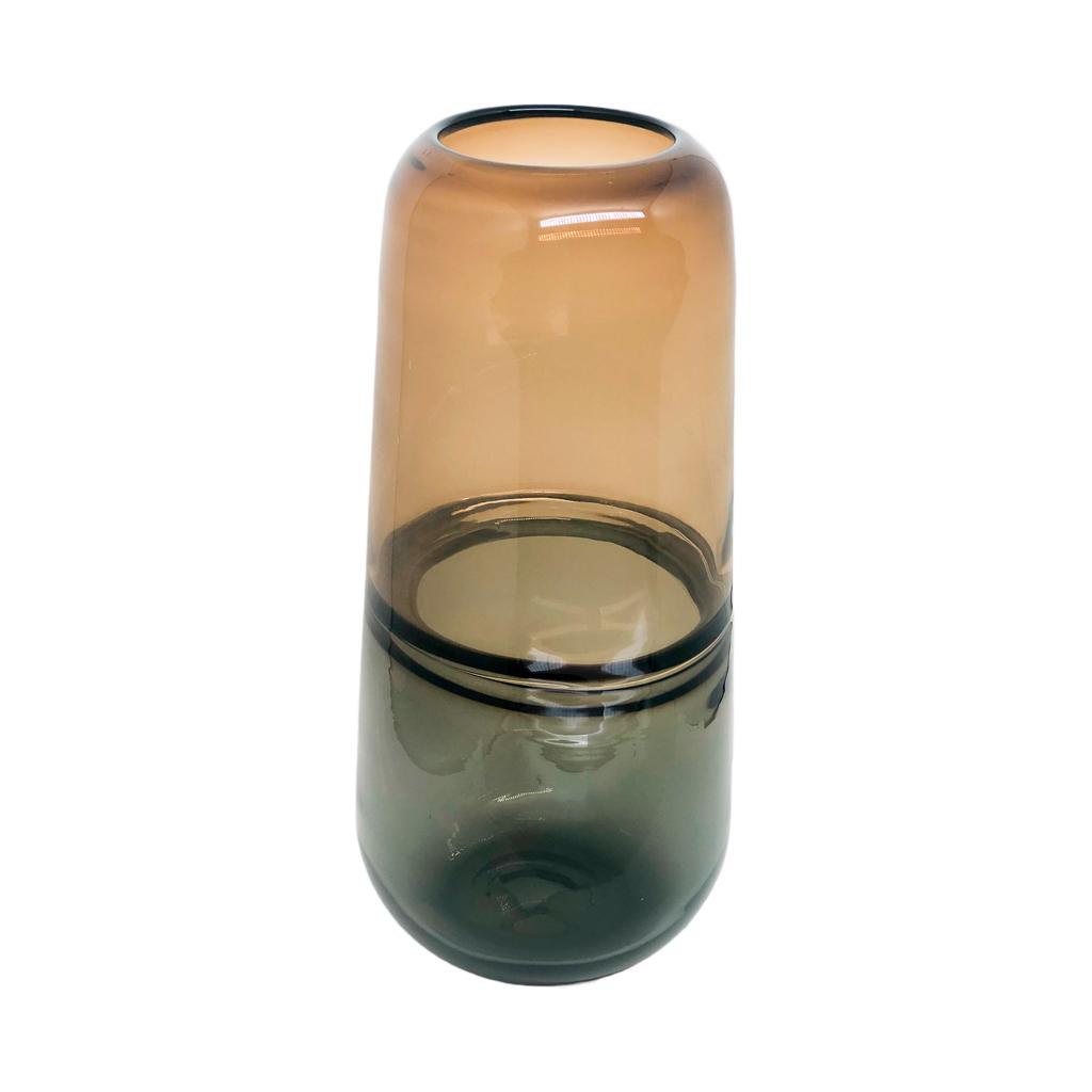 Vaso vidro fumê G