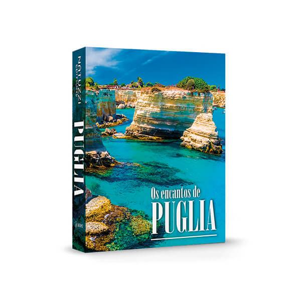 Caixa Livro Natuzzi Encantos de Puglia