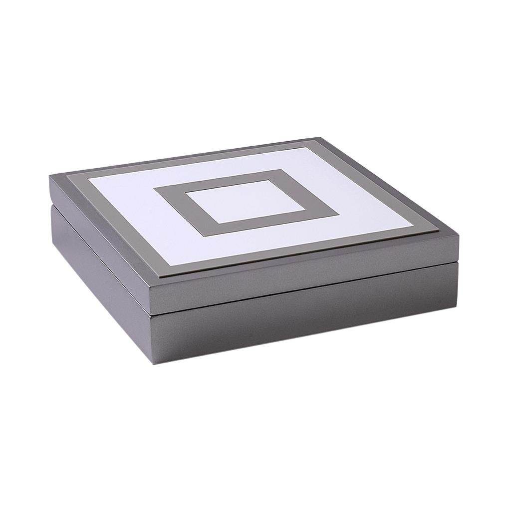 Caixa decorativa quadrada