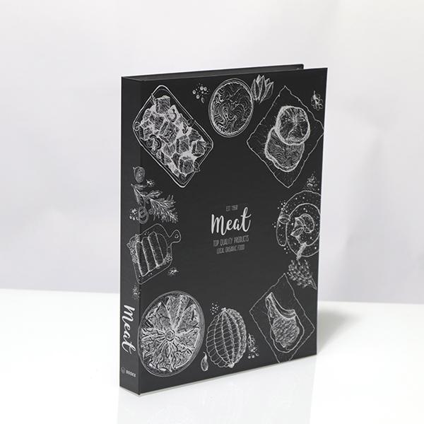 Caixa Livro Metalizada Meat