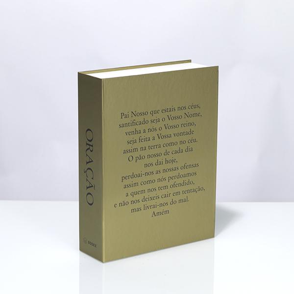 Caixa Livro Metaliz Oração