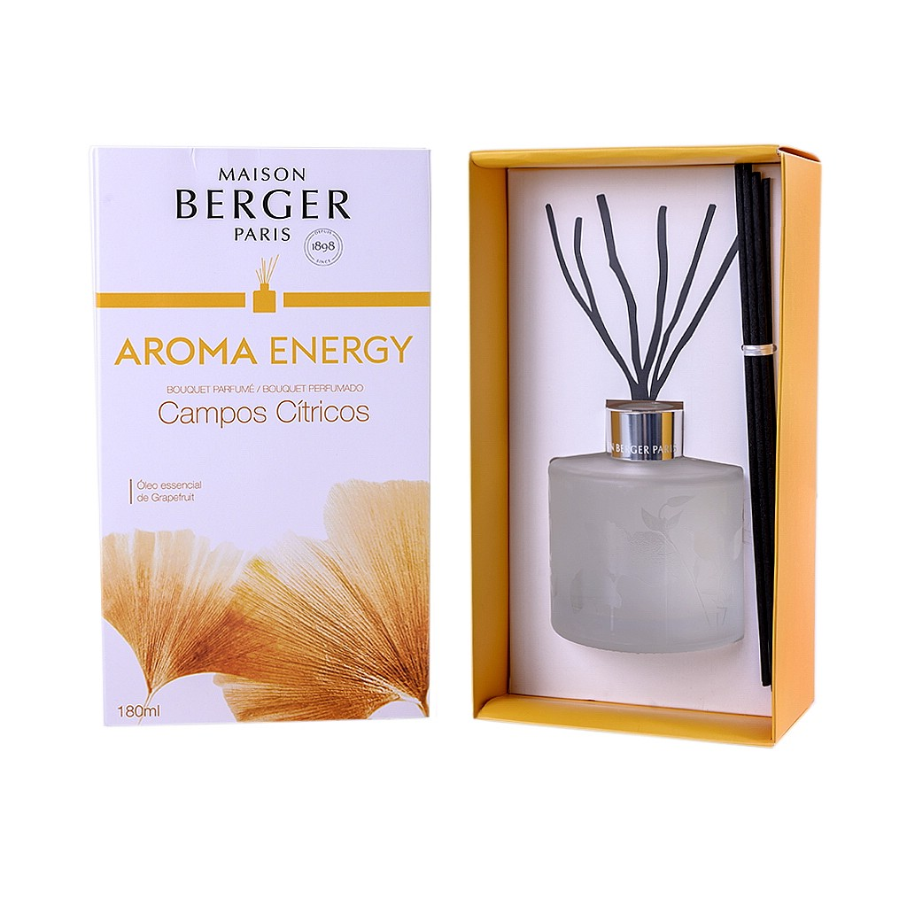 Difusor de varetas aroma Energy