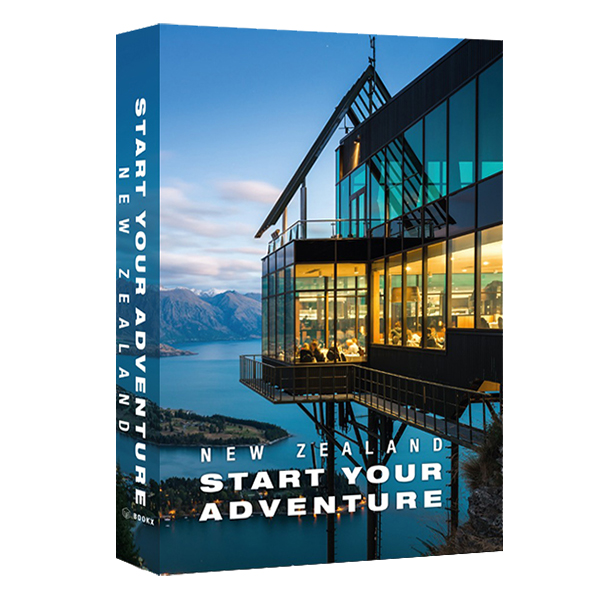 Caixa Livro New Zealand