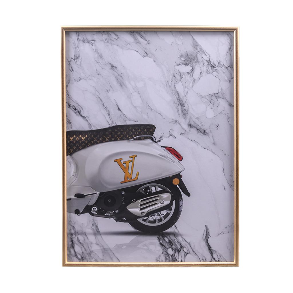 Quadro Vespa Louis Vuitton B