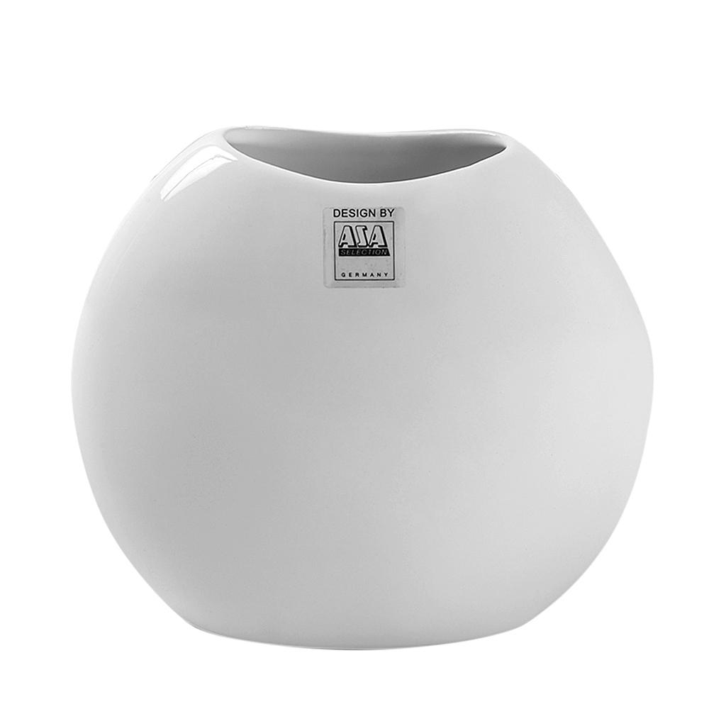 Vaso em cerâmica branco Moon