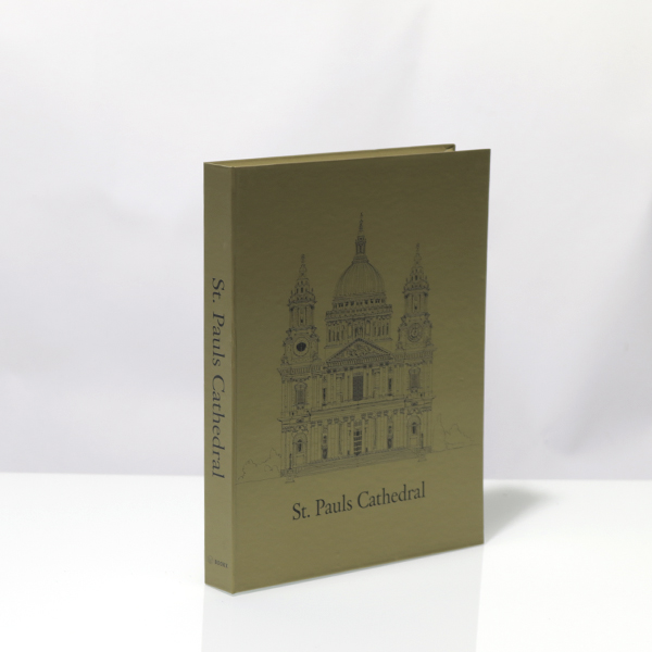 Caixa Livro Metaliz Cathedral