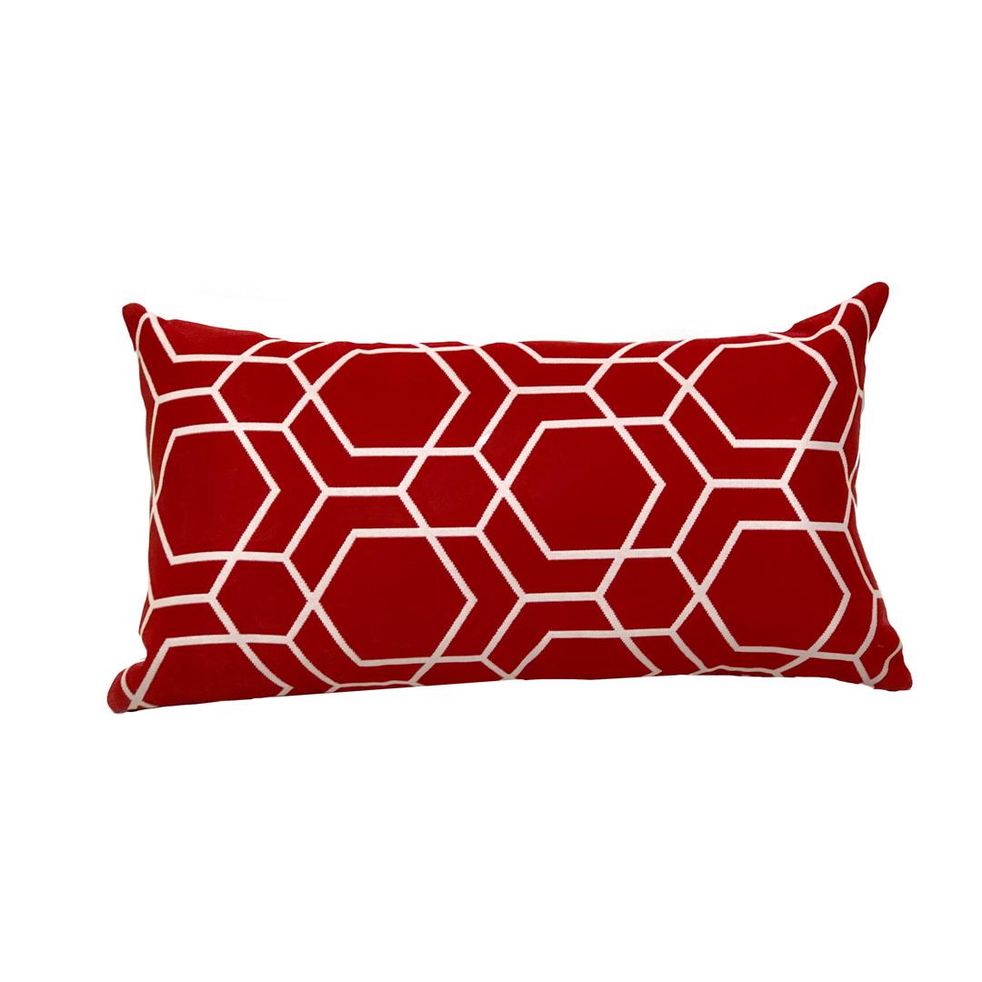 Almofada baguete - vermelho