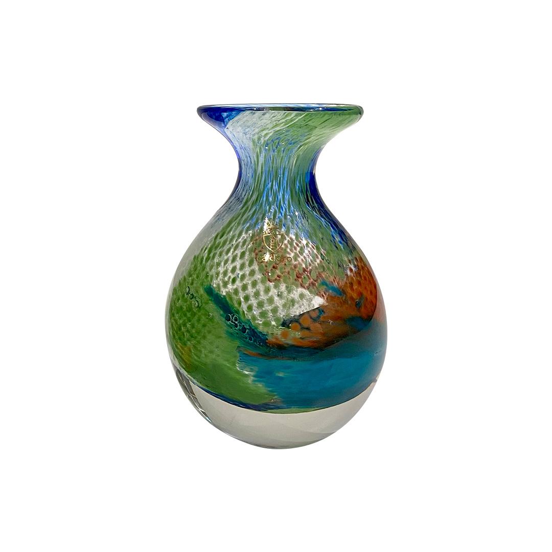 Vaso mini cristal colorido